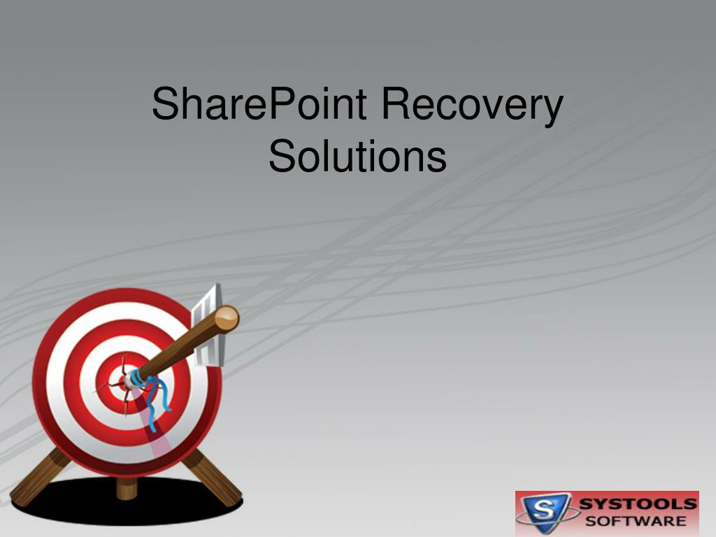 sharepoint recovery solutions l.