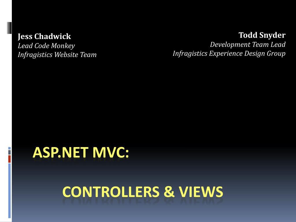 asp net mvc controllers views l.