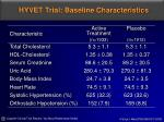 hyvet trial baseline characteristics7