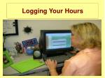 logging your hours