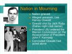nation in mourning