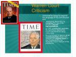 warren court criticism23