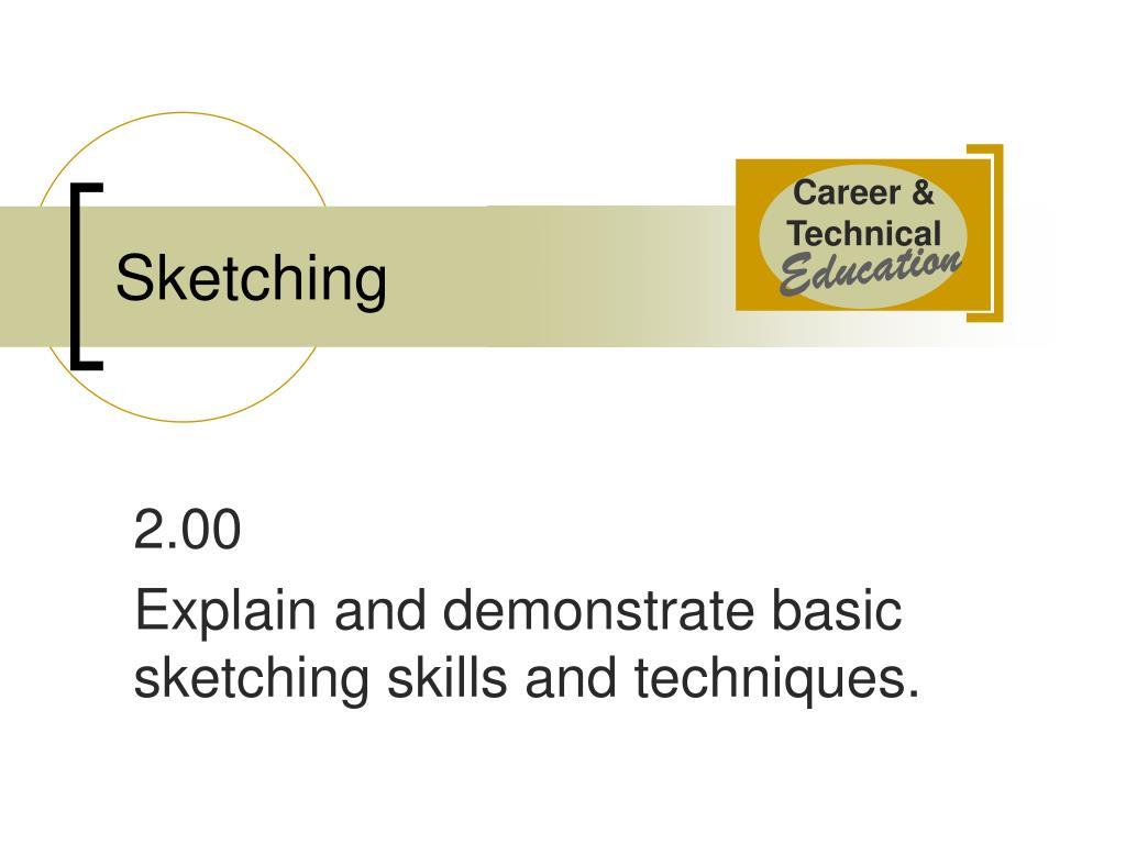 sketching l.