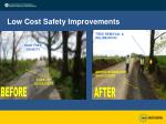 low cost safety improvements22