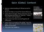 gain global context