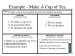 example make a cup of tea60