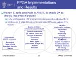 fpga implementations and results22