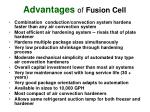 advantages of fusion cell