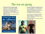 the war on ageing