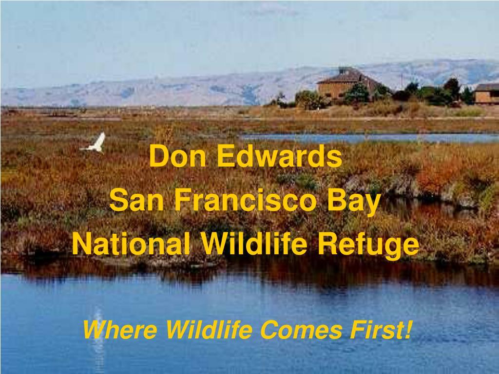 don edwards san francisco bay national wildlife refuge l.