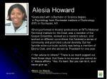 alesia howard