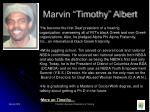 marvin timothy albert