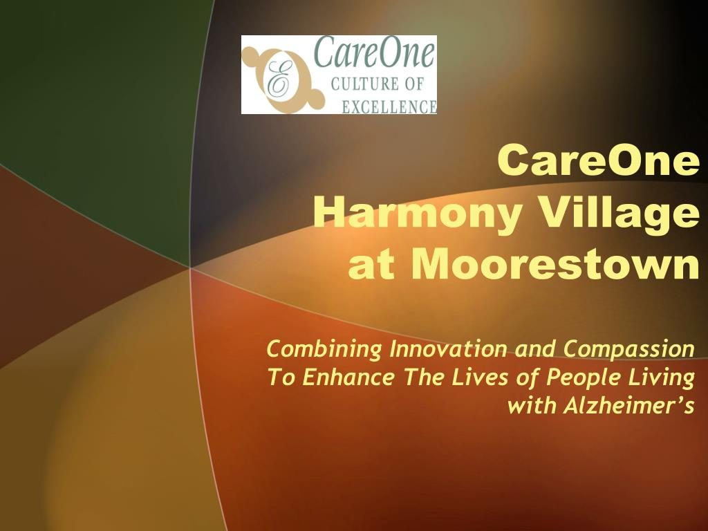 careone harmony village at moorestown l.