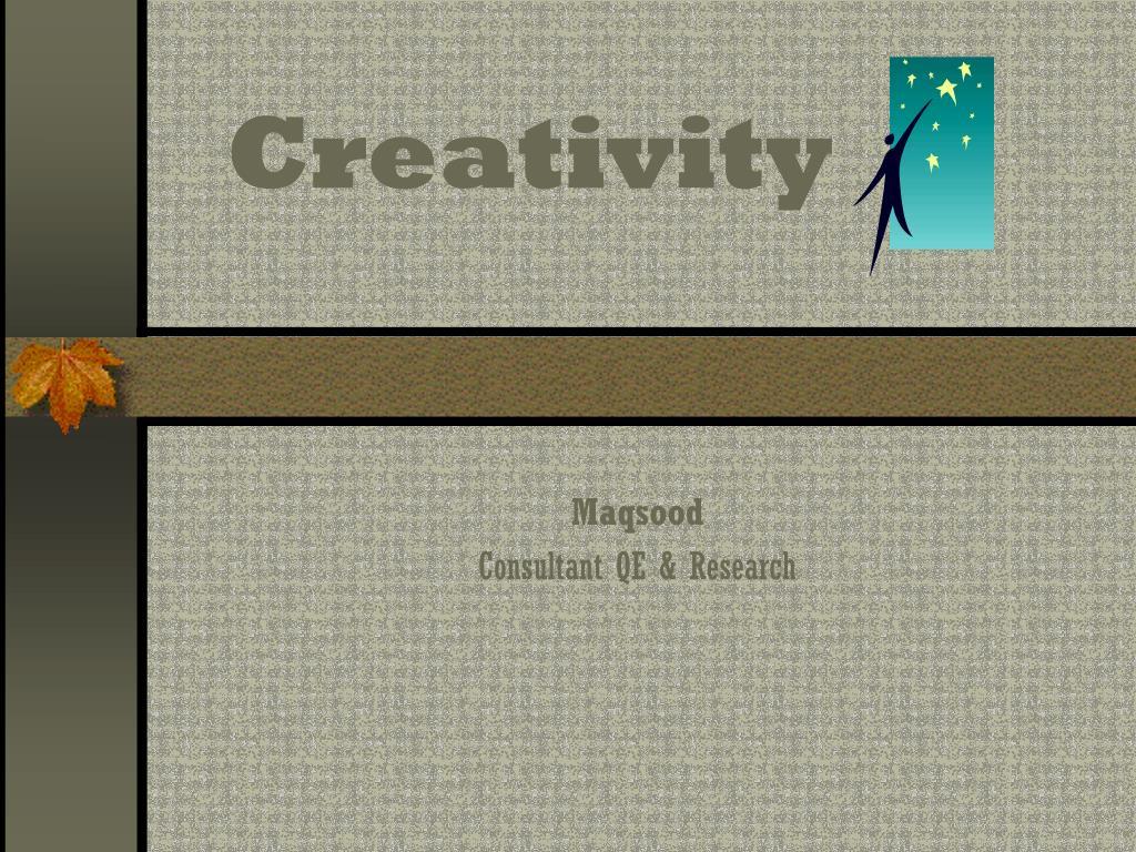 creativity l.