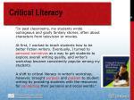 critical literacy98