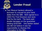 lender fraud30