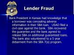 lender fraud31