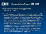 standards in software 188 110b
