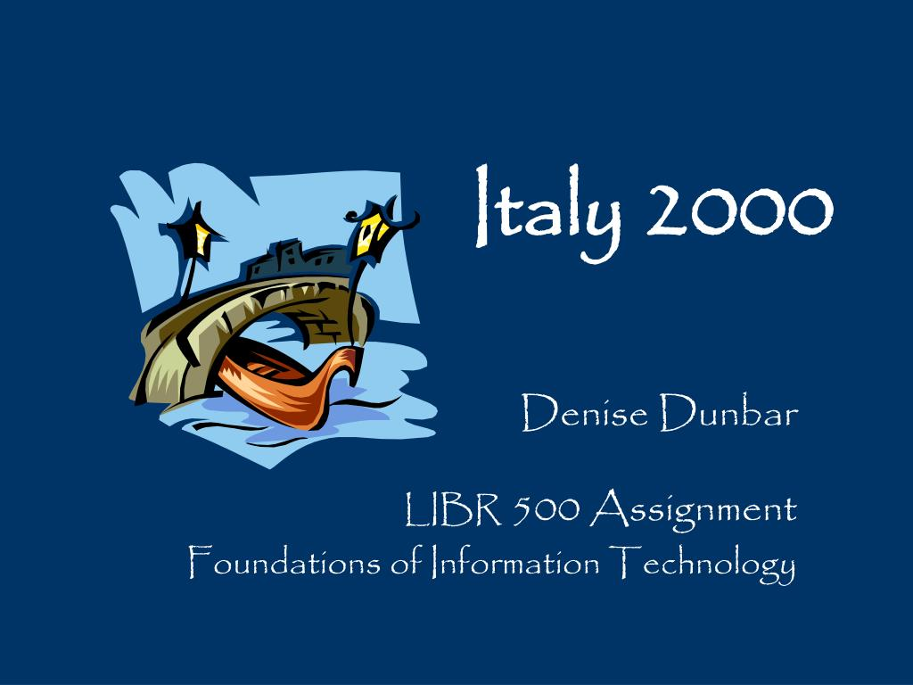italy 2000 l.