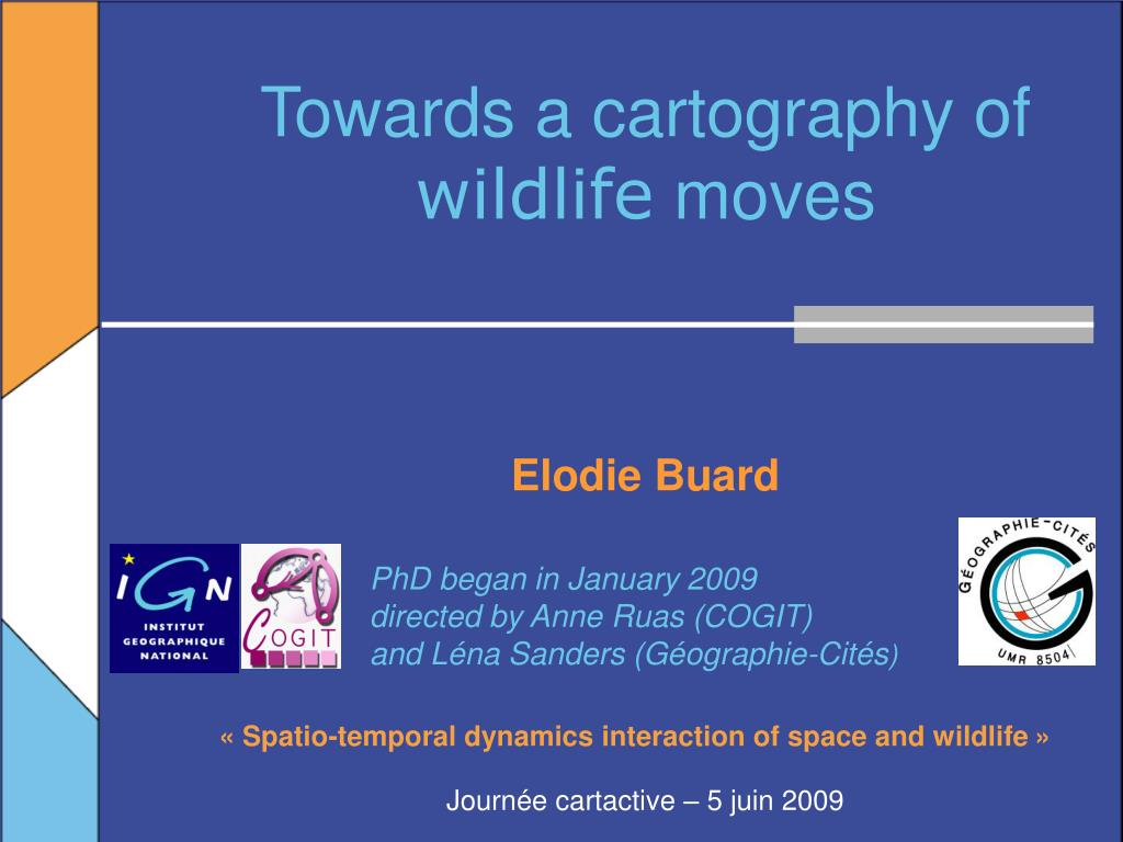 towards a cartography of wildlife moves l.