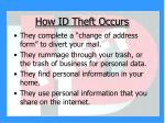 how id theft occurs7