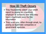 how id theft occurs8