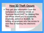 how id theft occurs9