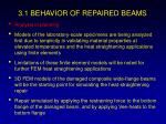 3 1 behavior of repaired beams