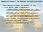 geopolitical framework the remnants of a global superpower35