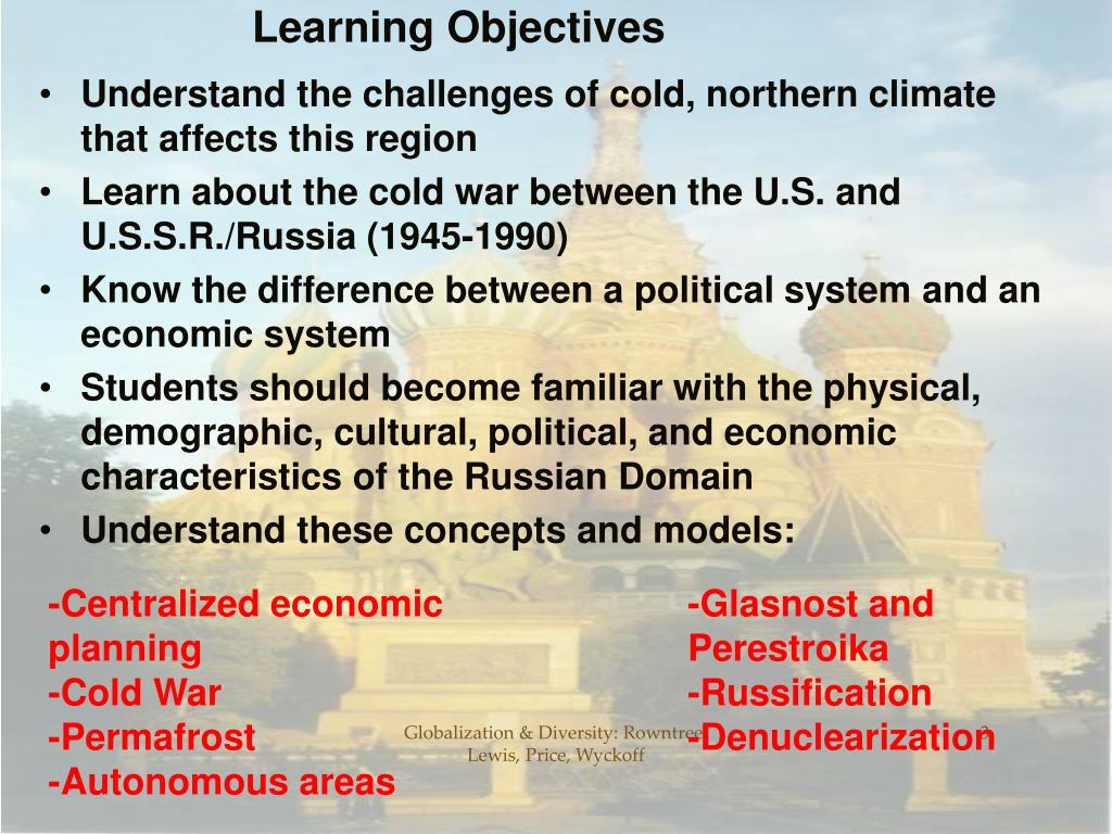 cold war objectives