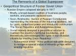 the remnants of a global superpower