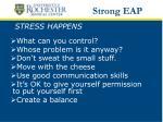 stress happens