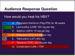 audience response question103