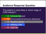 audience response question22