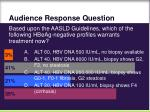 audience response question62