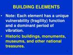 building elements84