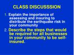 class discusssion73