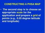 constructing a phsa map64