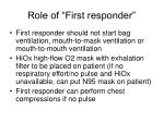 role of first responder17