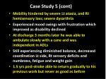 case study 5 cont