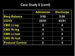 case study 6 cont