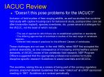 iacuc review