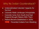 why no indian counterattack