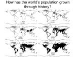 how has the world s population grown through history4