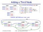 adding a third node