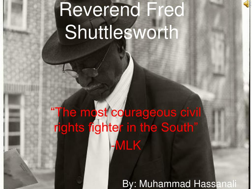 reverend fred shuttlesworth l.
