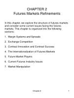 chapter 2 futures markets refinements