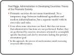 fred riggs administration in developing countries theory of the prismatic society11