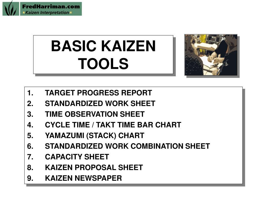 basic kaizen tools l.