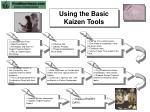 using the basic kaizen tools